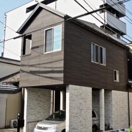 住吉の住宅:実家の建替え