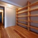 阿倍野の住宅:狭小間口の3階建て住宅の写真 玄関