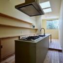 阿倍野の住宅:狭小間口の3階建て住宅の写真 キッチン