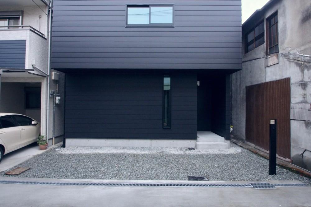 外観 (三国の住宅:都心に暮らす家族5人の家)