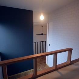 三国の住宅:大阪のデザイン住宅 3階建て (子供部屋)