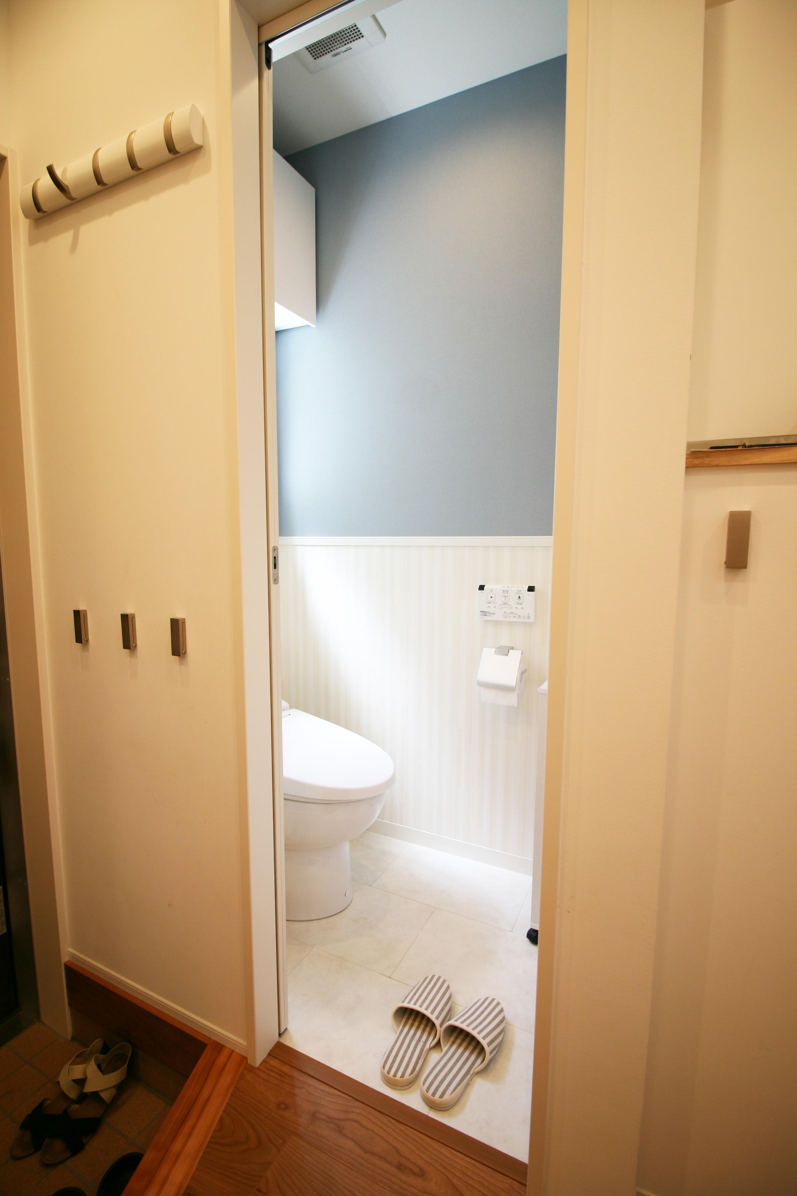 バス/トイレ事例:トイレ(TWIN SMALL HOUSE)