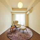 子ども部屋の実現はもちろん、新旧を巧みに調和させながら華やかさを演出した住まいの写真 ベットルーム