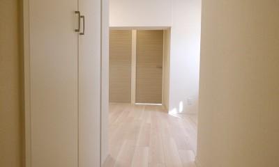 柔らかなナチュラルテイスト (廊下)