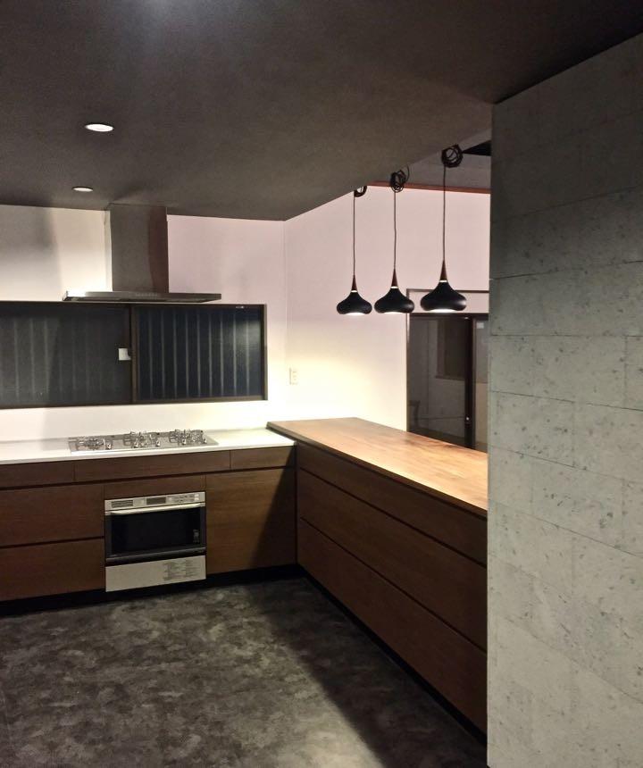 キッチン事例:キッチン(生駒山荘の別荘リノベーション(外国人家族):大阪 中古住宅のリノベーション)