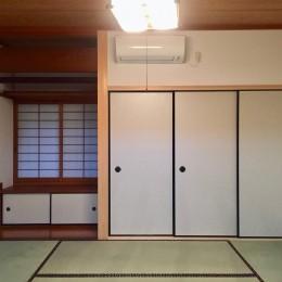 生駒山荘の別荘リノベーション:中古物件のリノベーション (和室)