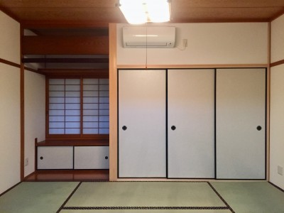 和室 (生駒山荘の別荘リノベーション:中古物件のリノベーション)