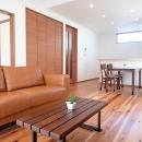 小上がり畳の寝室のあるお家の写真 LDK