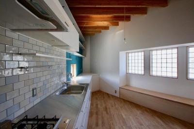 2階 LDKスペース (箕面の家:大阪.箕面の店舗付き住宅)