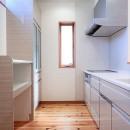小上がり畳の寝室のあるお家の写真 キッチン