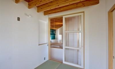 箕面の家:大阪.箕面の店舗付き住宅 (2階 寝室)