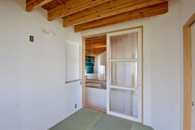 2階 寝室 (箕面の家:大阪.箕面の店舗付き住宅)