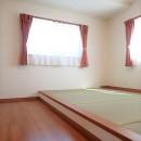 小上がり畳の寝室のあるお家の写真 小上がり和寝室