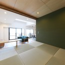 Natural Cute~無垢材×DIY塗装でオンリーワンな空間を~の写真 リビングダイニング