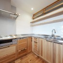Natural Cute~無垢材×DIY塗装でオンリーワンな空間を~の写真 キッチン