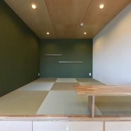夫婦で選んだ好きなもの~無垢材×DIY塗装でオンリーワンな空間を~ (和室)
