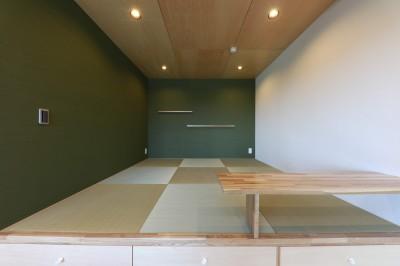 和室 (Natural Cute~無垢材×DIY塗装でオンリーワンな空間を~)