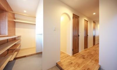 玄関|Natural Cute~無垢材×DIY塗装でオンリーワンな空間を~