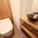 Natural Cute~無垢材×DIY塗装でオンリーワンな空間を~の写真 トイレ