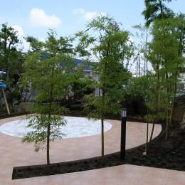 緑に癒される家 (家の庭:緑に癒される家)