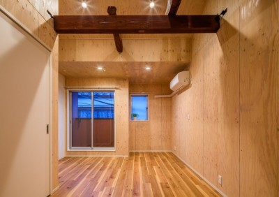 小屋のような家~今・人気の小屋空間~ (リビング:小屋のような家~今・人気の小屋空間~)
