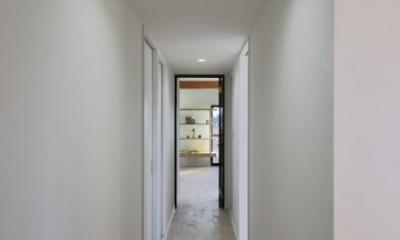リビングに続く廊下|北区S様邸