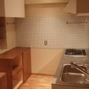 片瀬海岸のマンションの写真 造作キッチン