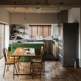 N house2 (キッチン)