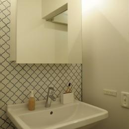 洗面室 (tokyo*standard  モデルルーム)