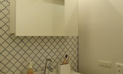 tokyo*standard  モデルルーム (洗面室)