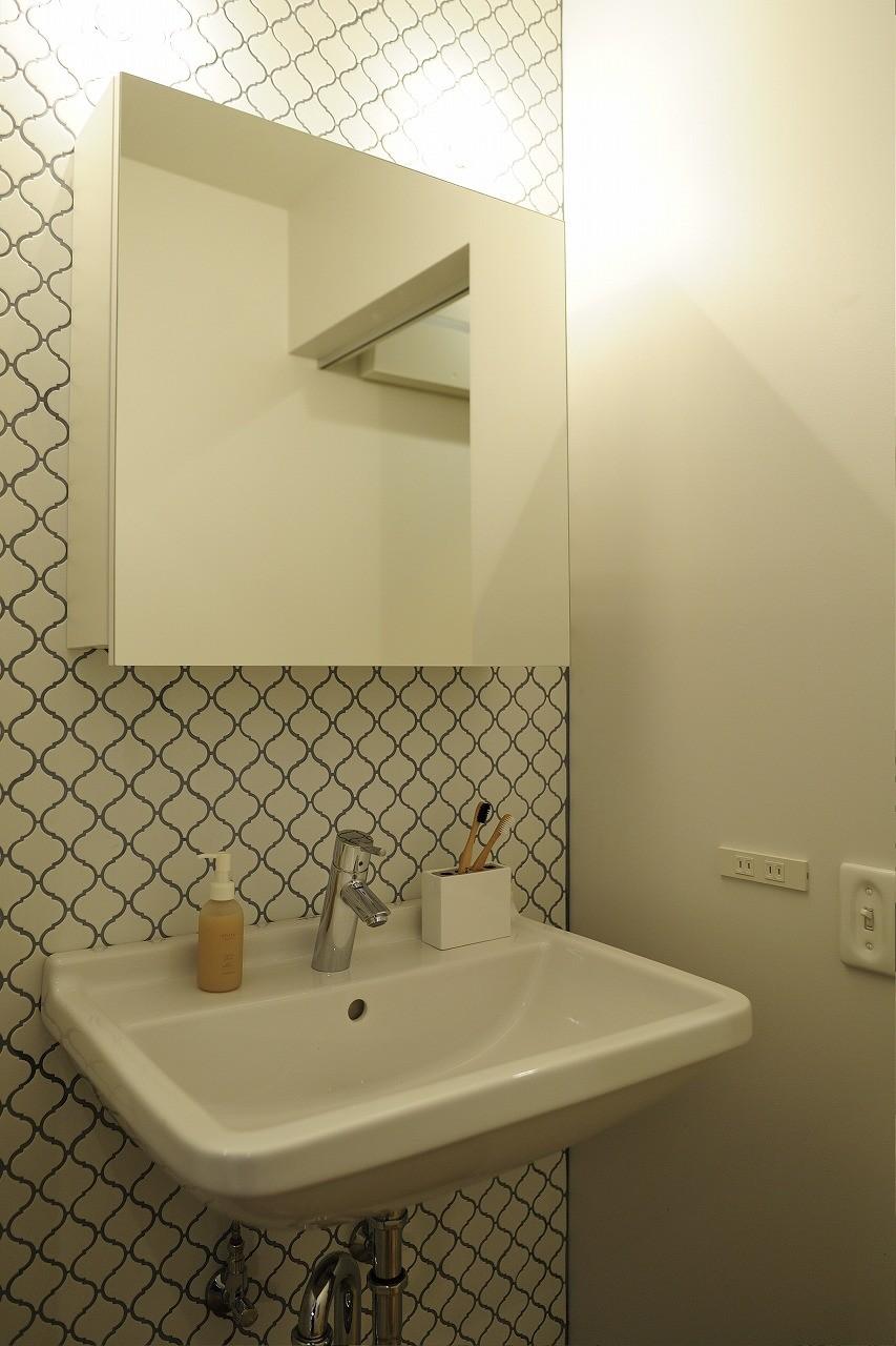 バス/トイレ事例:洗面室(tokyo*standard  モデルルーム)