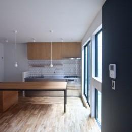 三国の住宅:大阪のデザイン住宅 3階建て