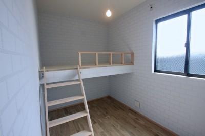 2階子供部屋 (三国の住宅:大阪のデザイン住宅 3階建て)