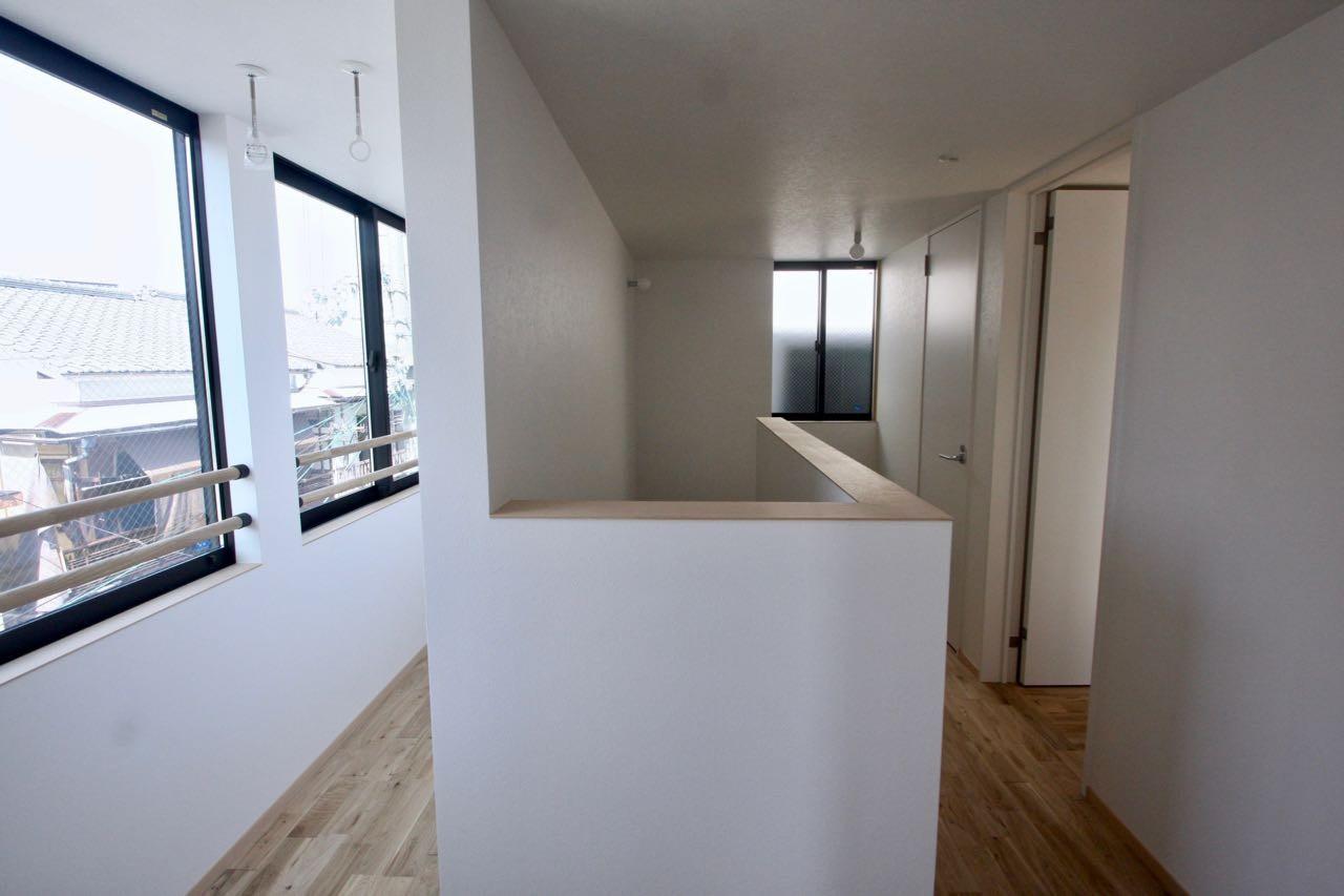 その他事例:3階サンルーム(三国の住宅:大阪のデザイン住宅 3階建て)