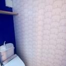三国の住宅:都心に暮らす家族5人の家の写真 3階トイレ