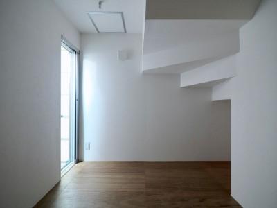 1階寝室 (阿倍野の住宅:大阪の狭小住宅 3階建て)