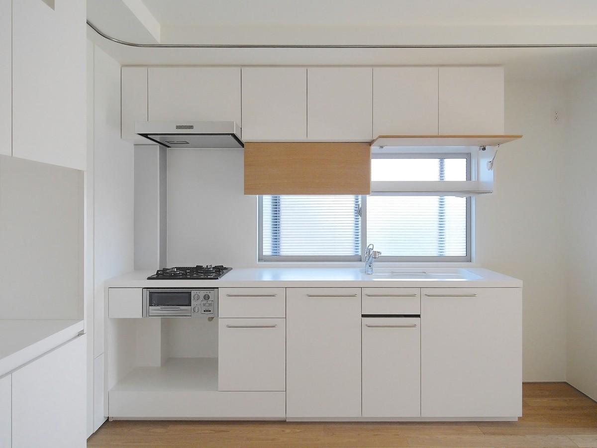 キッチン事例:キッチン(大宮PM 二重壁によるリノベーション)
