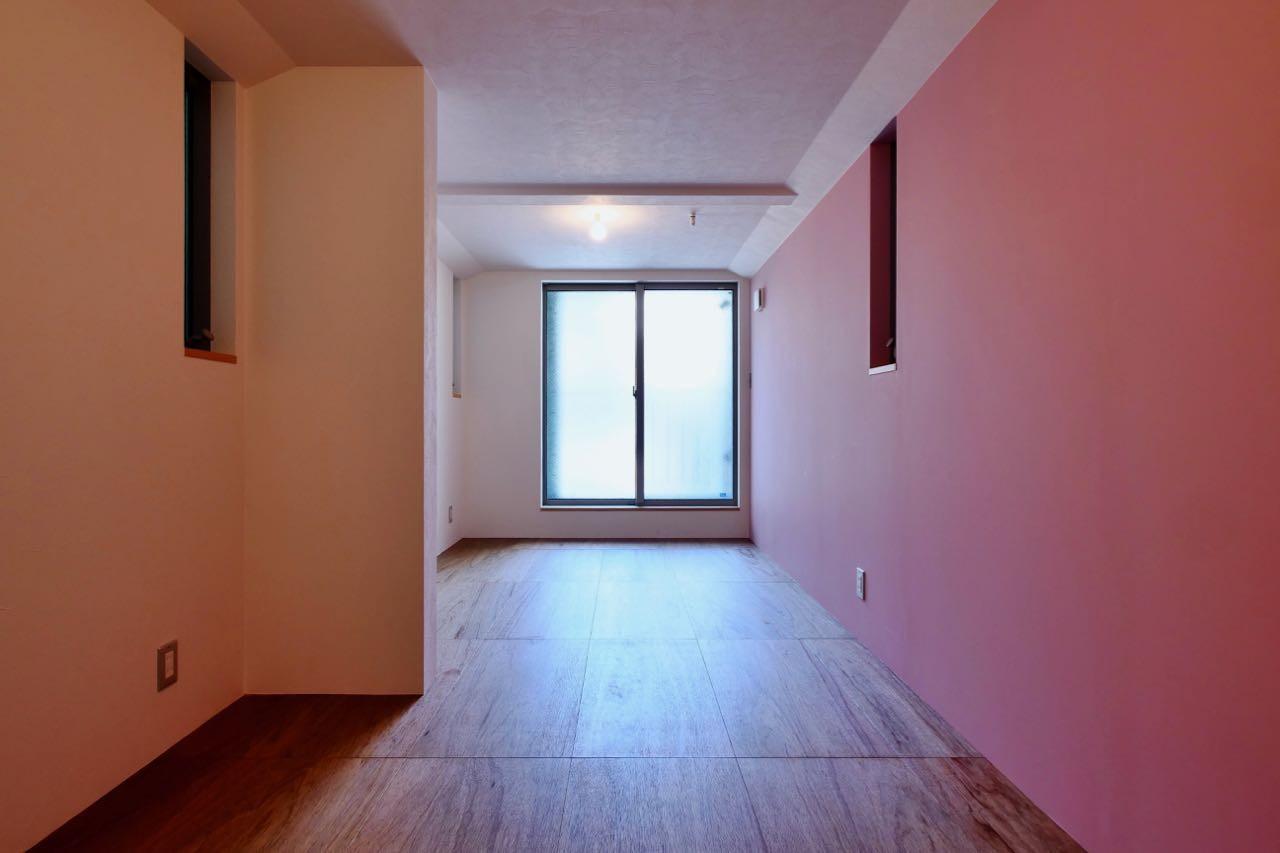 子供部屋事例:2階子供部屋(阿倍野の住宅:狭小間口の3階建て住宅)