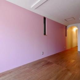阿倍野の住宅:大阪の狭小住宅 3階建て (2階子供部屋)