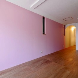 阿倍野の住宅:狭小間口の3階建て住宅 (2階子供部屋)