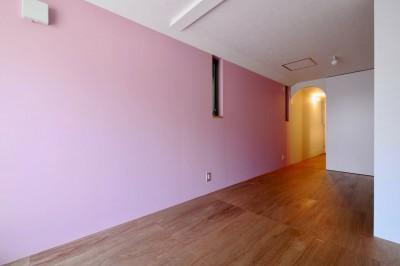 2階子供部屋 (阿倍野の住宅:大阪の狭小住宅 3階建て)