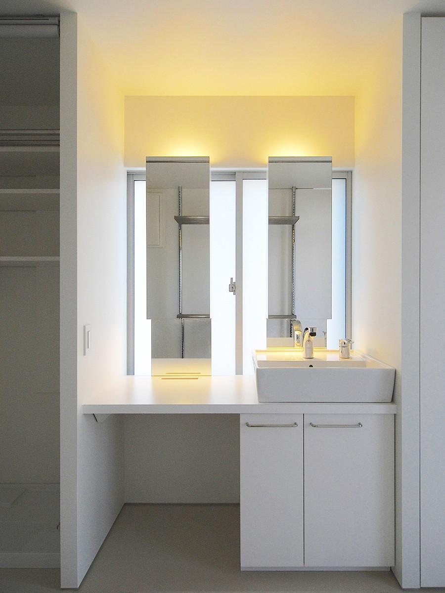 バス/トイレ事例:洗面台(大宮PM 二重壁によるリノベーション)