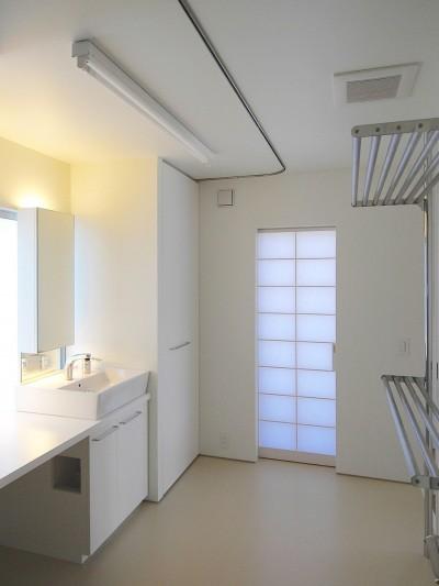 洗面所 (大宮PM 二重壁によるリノベーション)