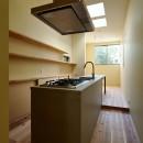 阿倍野の住宅:狭小間口の3階建て住宅の写真 3階LDK