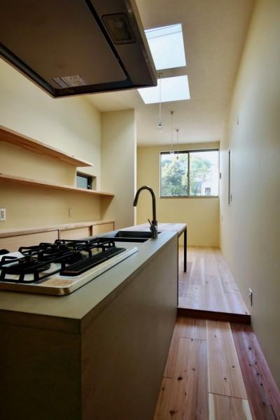 阿倍野の住宅:大阪の狭小住宅 3階建て (3階LDK)