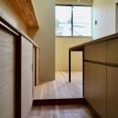 阿倍野の住宅:狭小間口の3階建て住宅の写真 3階ダイニングキッチン