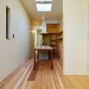 阿倍野の住宅:大阪の狭小住宅 3階建ての写真 3階LDK
