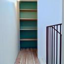 阿倍野の住宅:狭小間口の3階建て住宅の写真 3階パントリー