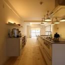新居のためのリノベーションの写真 キッチン