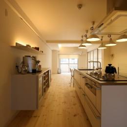 キッチン (新居のためのリノベーション)